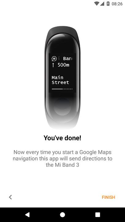 Mi Band Maps - Instalación