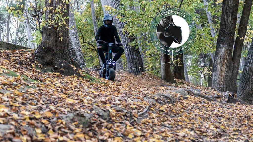 Outsider DemiGod Makalu, ruedas