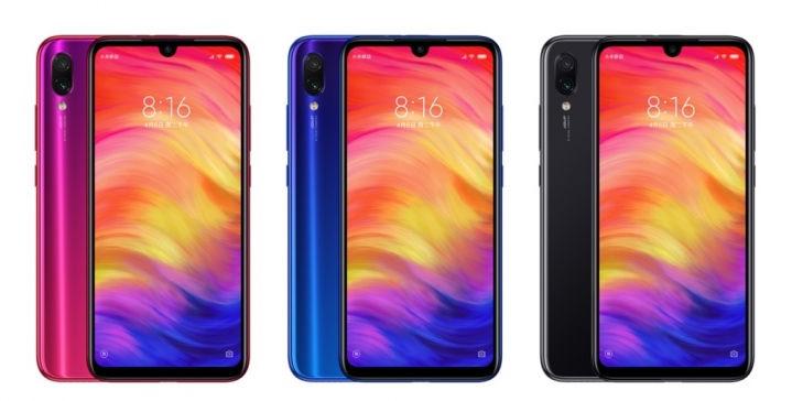 Redmi Note 7 - colores