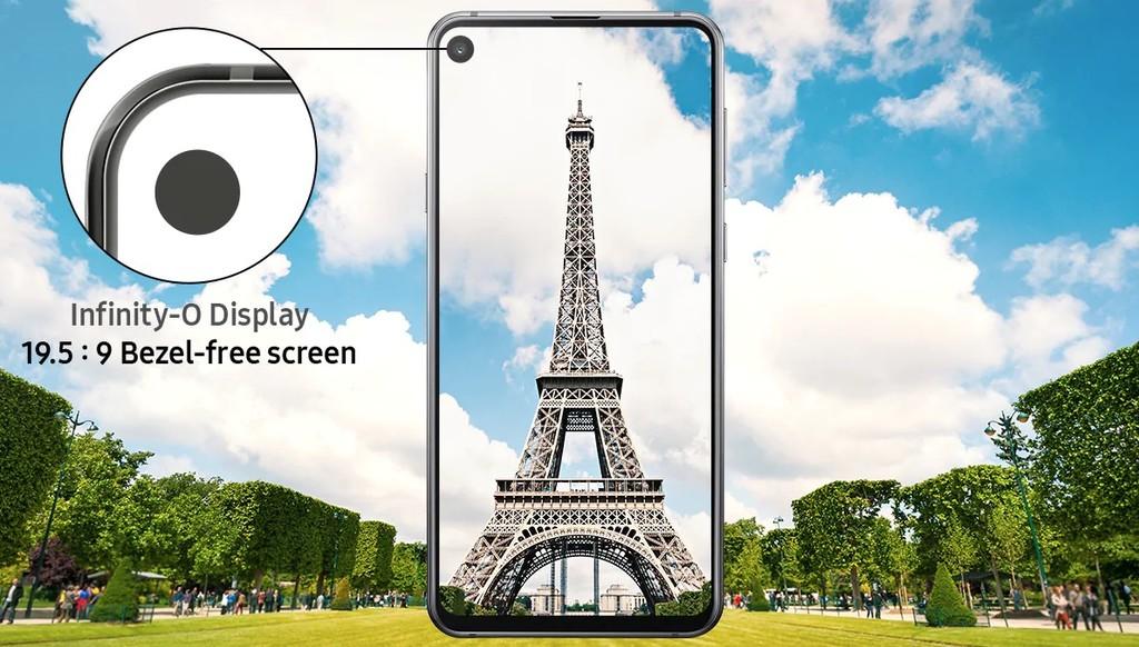 Samsung Galaxy A9 Pro 2019 - pantalla