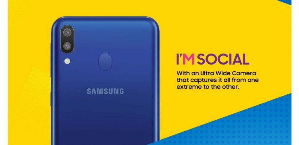 Samsung Galaxy - M10 - M20 - M30