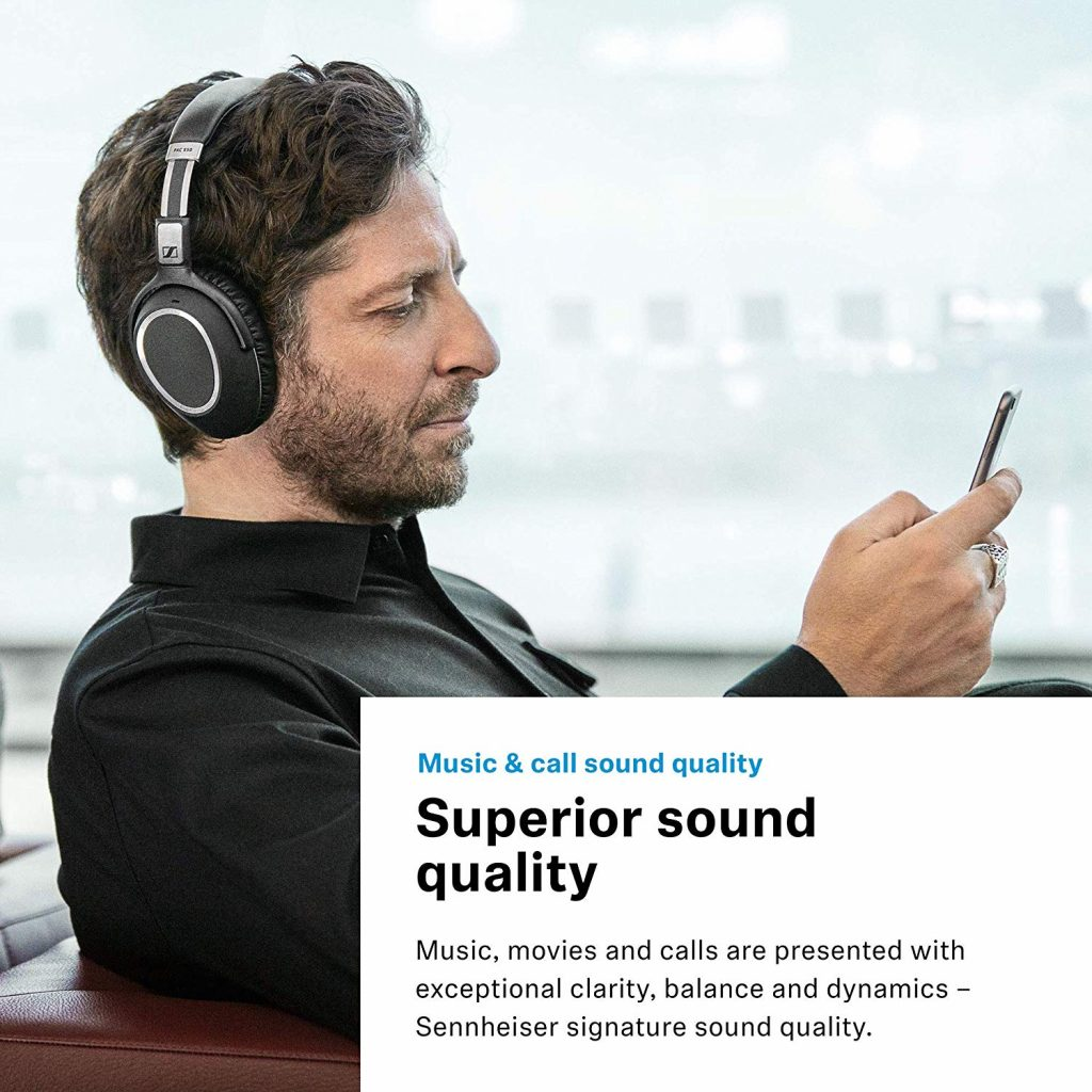Sennheiser PXC 550, sonido