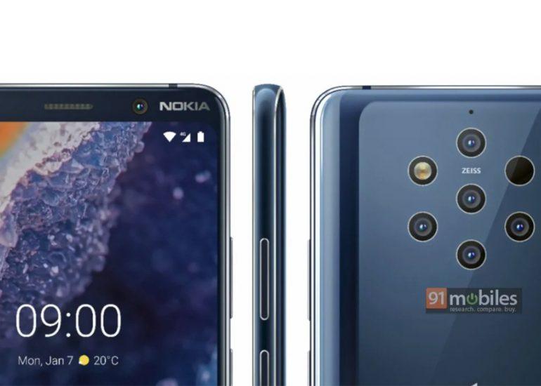 Así será el Nokia 9 Pureview