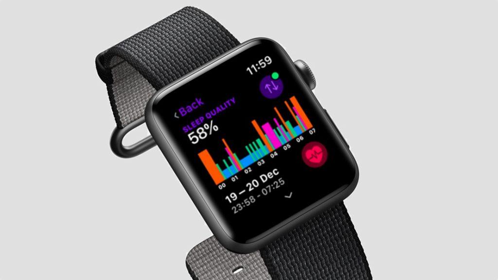El monitoreo de sueño llegaría al Apple Watch en 2020