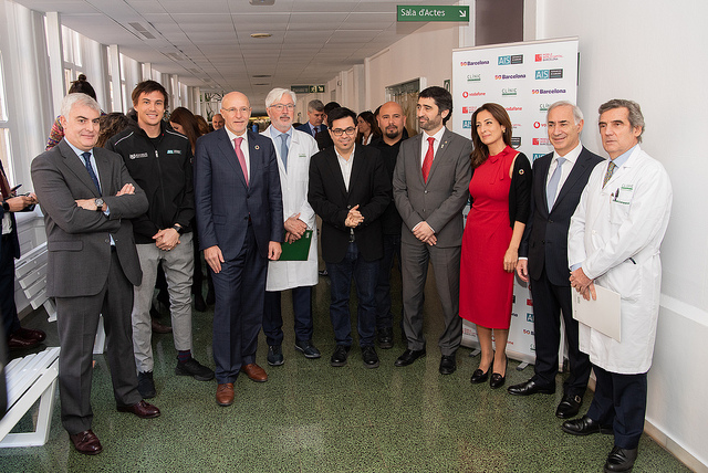 Foto de familia presentación piloto 'Cirujano Remoto' del proyecto Telestration