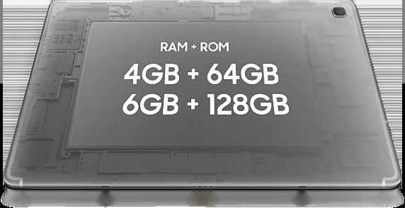 Galaxy Tab S5e - Memoria