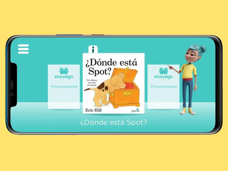 Huawei reafirma su compromiso con la alfabetización de personas sordas junto a StorySign