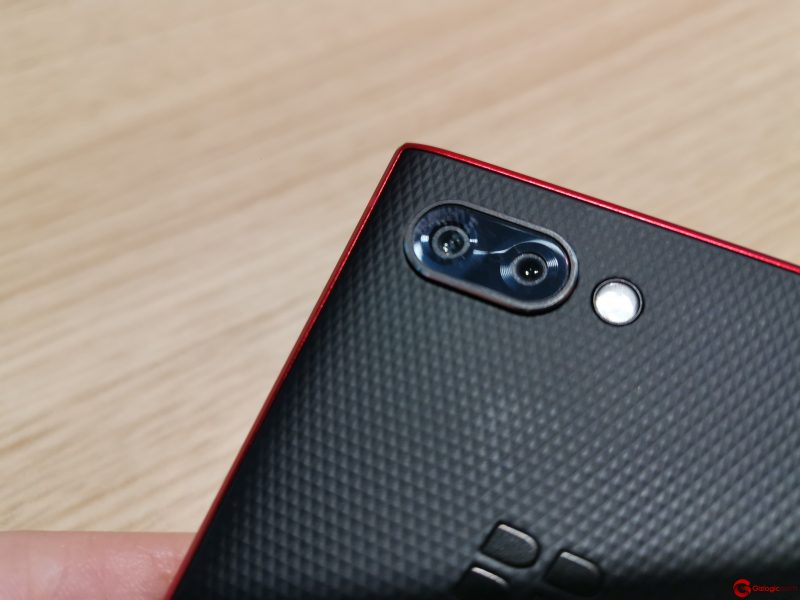 #MWC19: BlackBerry Key2 Red Edition, cámaras