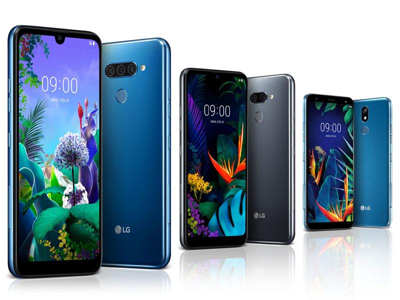 LG presenta a los nuevos LG Q60, K50 y K40, su apuesta de gama media