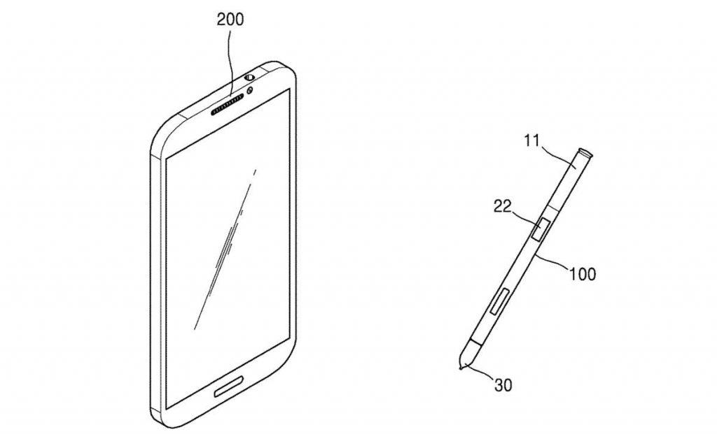 S Pen - patente