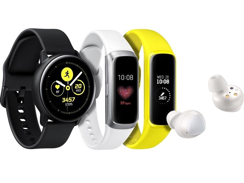 Samsung Galaxy Watch Active-Fit-Buds