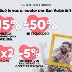 San Valentín Fnac