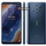 Se confirma el diseño del Nokia 9 PureView, el primer móvil con 5 cámaras