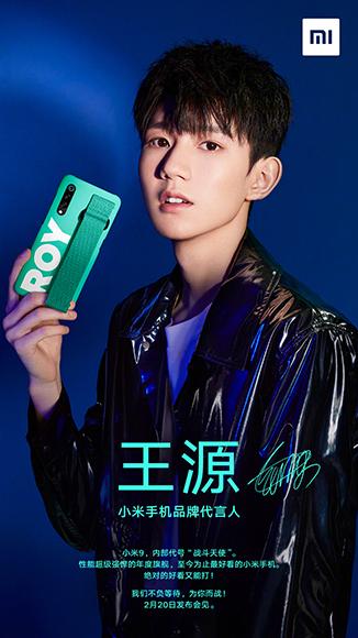 Xiaomi Mi 9 - Póster de TFBOYS Roy