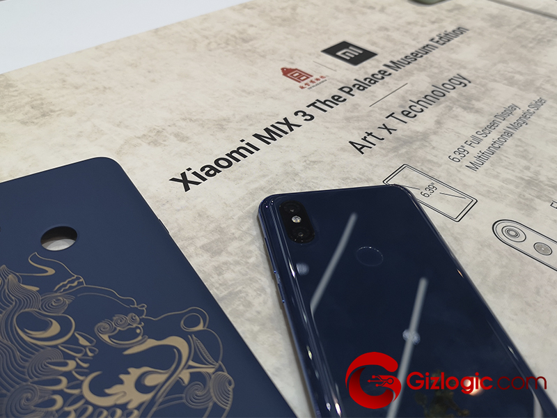 Xiaomi Mi Mix 3 Palace Museum Edition
