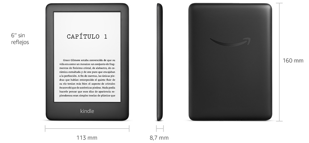 Amazon Kindle - Detalles