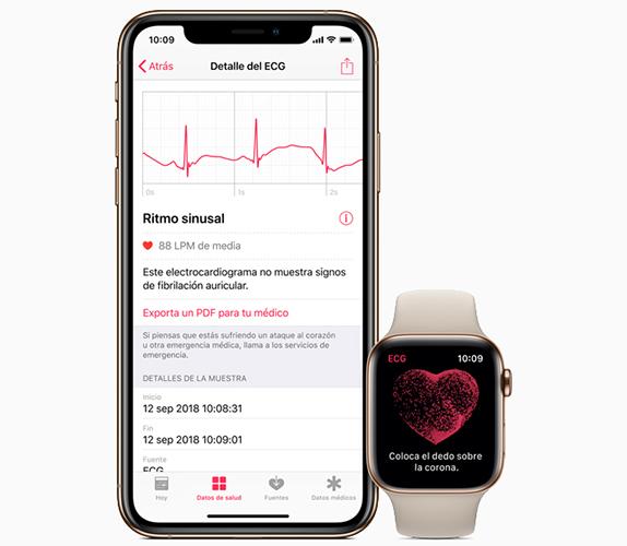 Apple Watch Series 4 - ECG - App