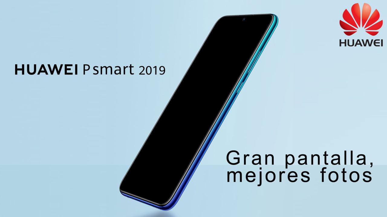 El Huawei P Smart+ 2019 ha llegado oficialmente a España