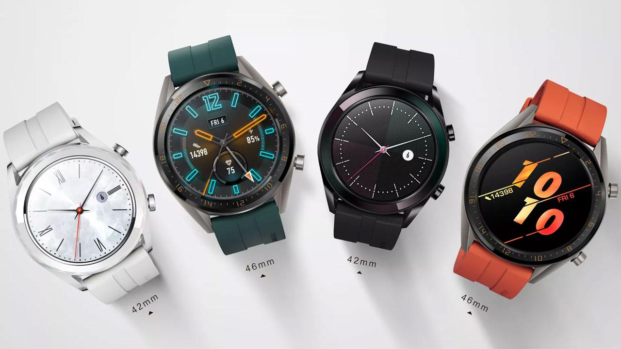 El Huawei Watch GT estrena 2 nuevas ediciones Active y Elegant