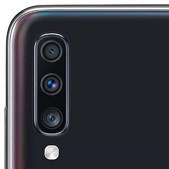 Samsung Galaxy A70 cámaras