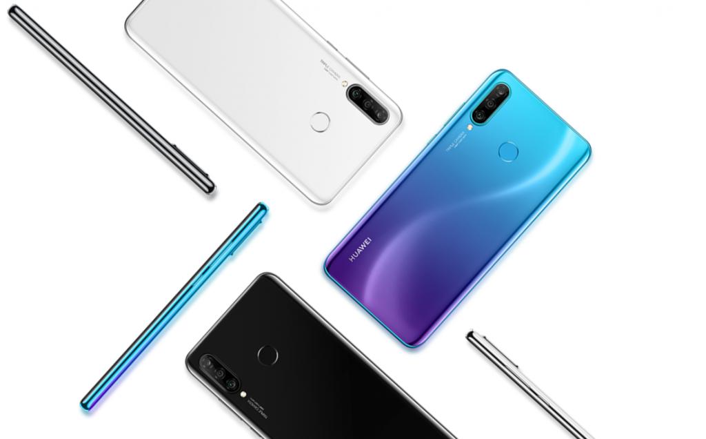 Huawei Nova 4e - diseño