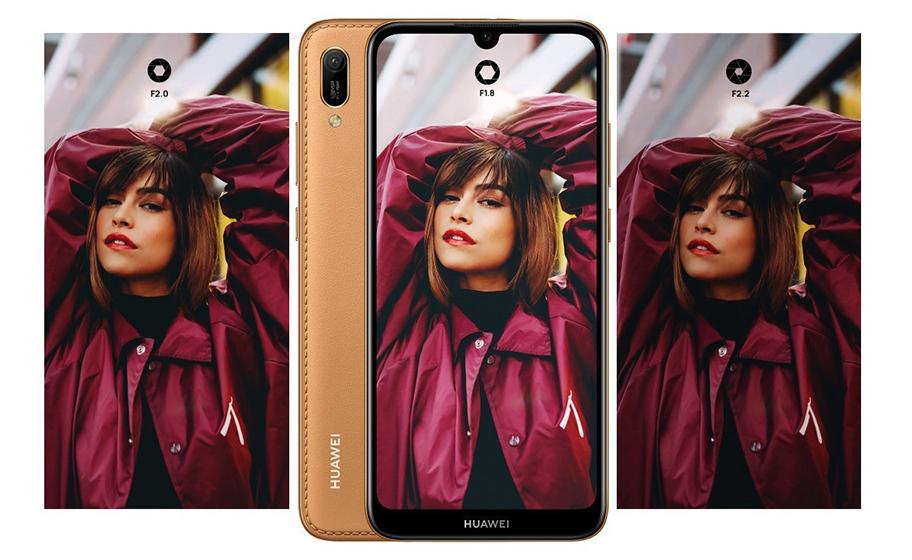 Huawei Y6 2019 - cámaras