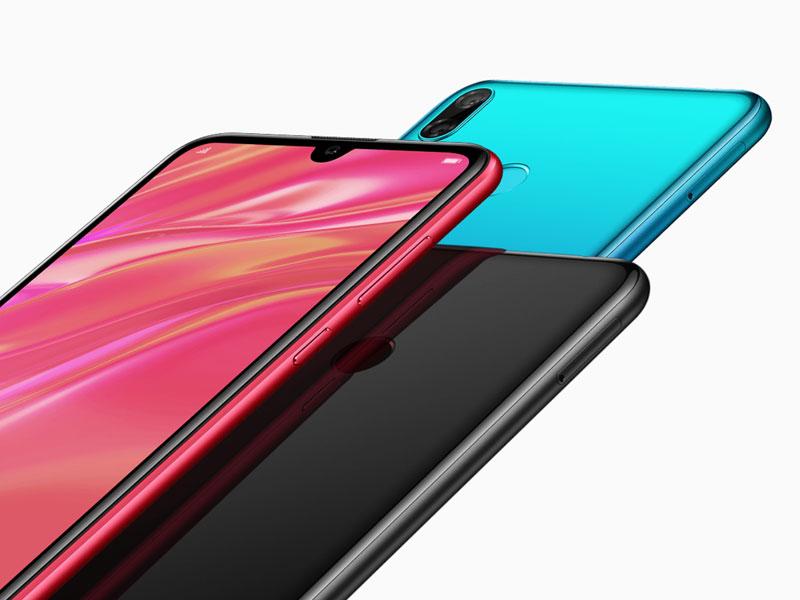 Huawei Y7 2019 - diseño