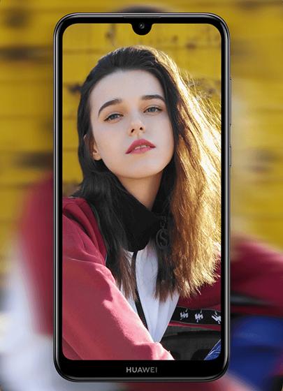 Huawei Y7 2019 - pantalla