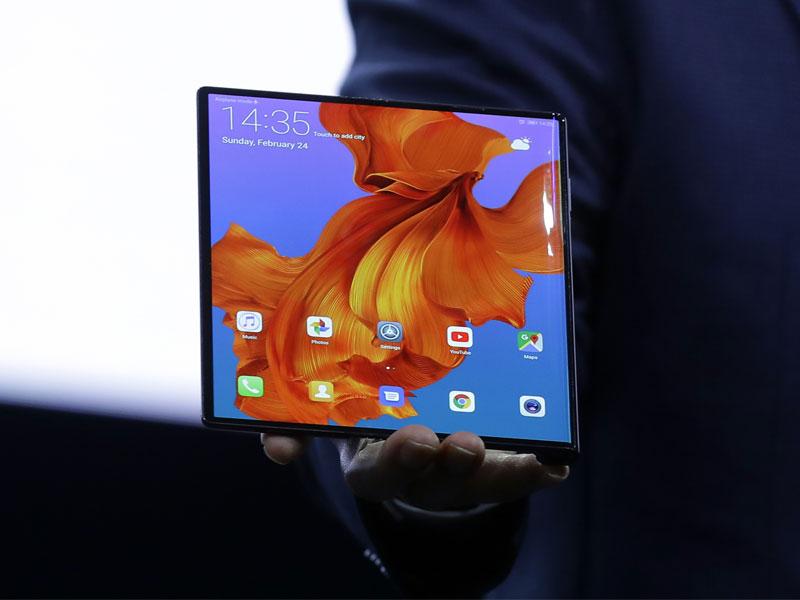 Huawei exhibe su servicio de vídeo bajo demanda 4K en su móvil plegable 5G