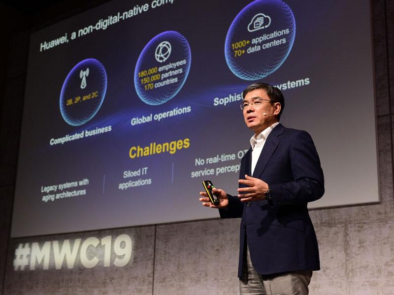 Huawei presenta su plataforma digital orientada a empresas