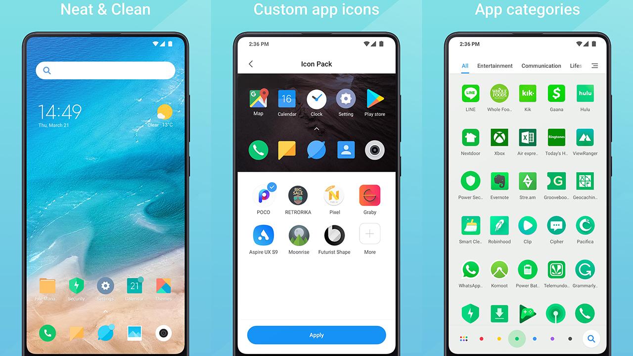 Mint Laucher, Xiaomi estrena nueva UI basada en Poco Launcher
