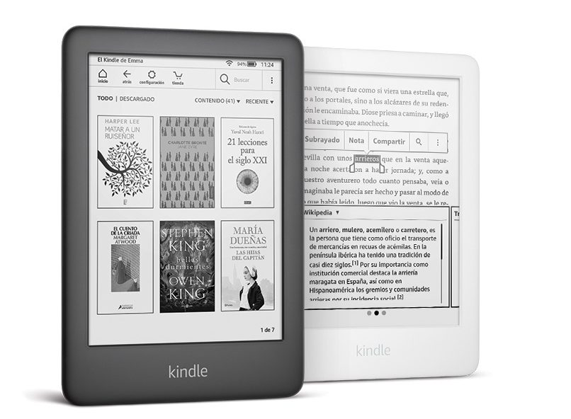 Nuevo Kindle de Amazon