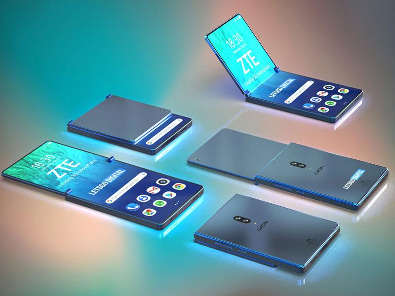 Sale a la luz una patente de Smartphone plegable de ZTE