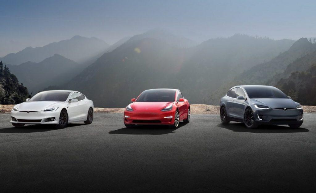 Tesla Model 3, S y X