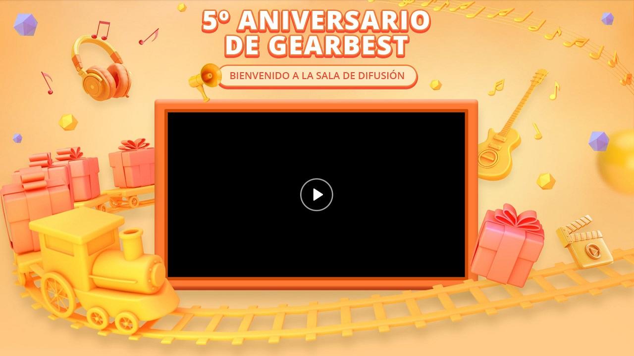 Aniversario de Gearbest