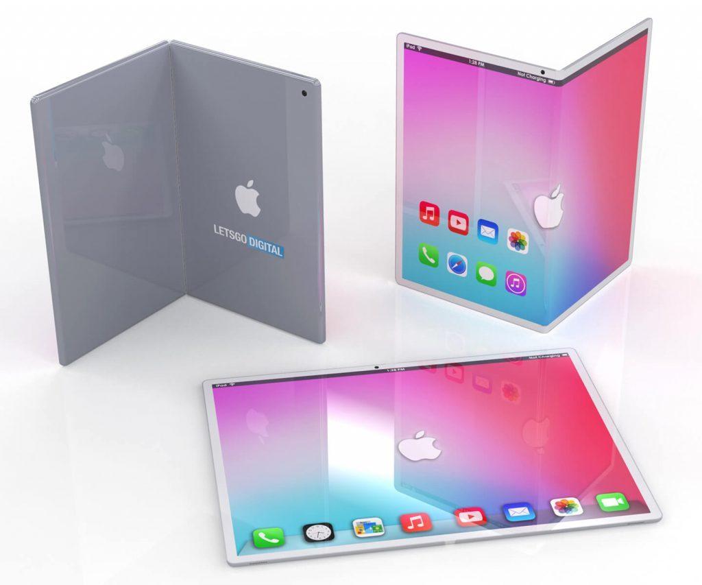 iPad plegable - Renders