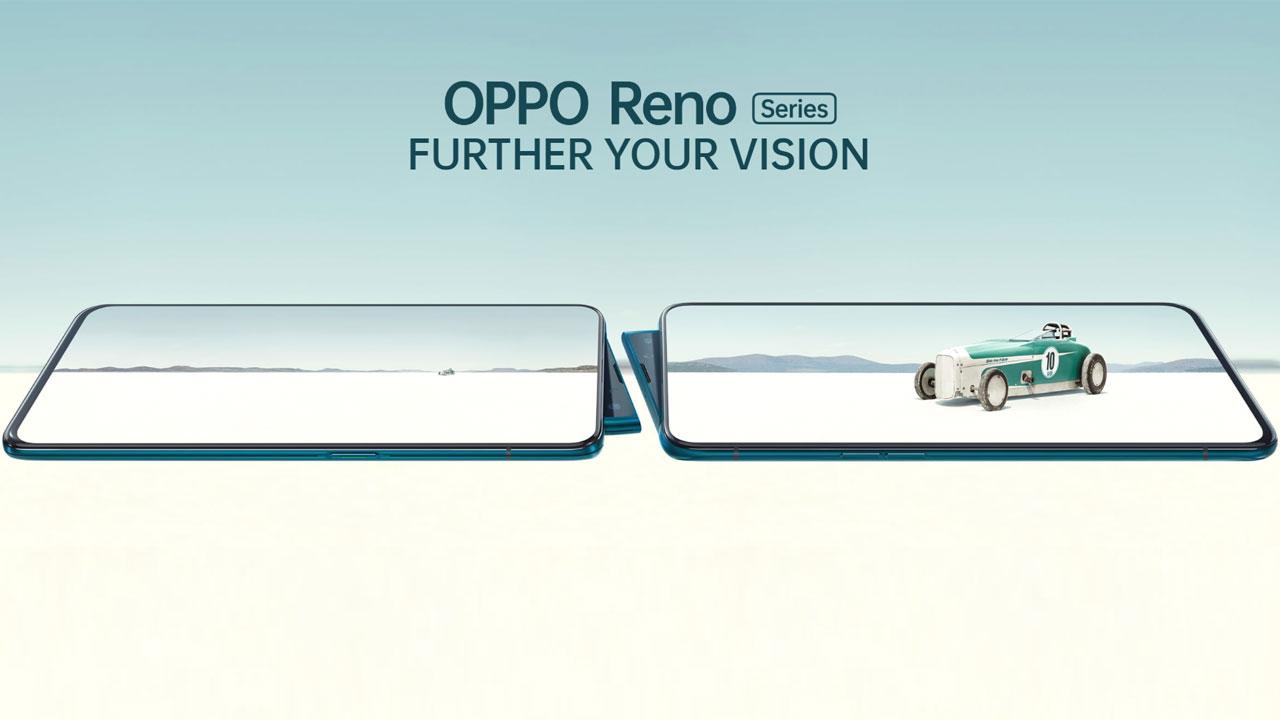 Anunciada la serie Oppo Reno con cámara emergente angular y 5G