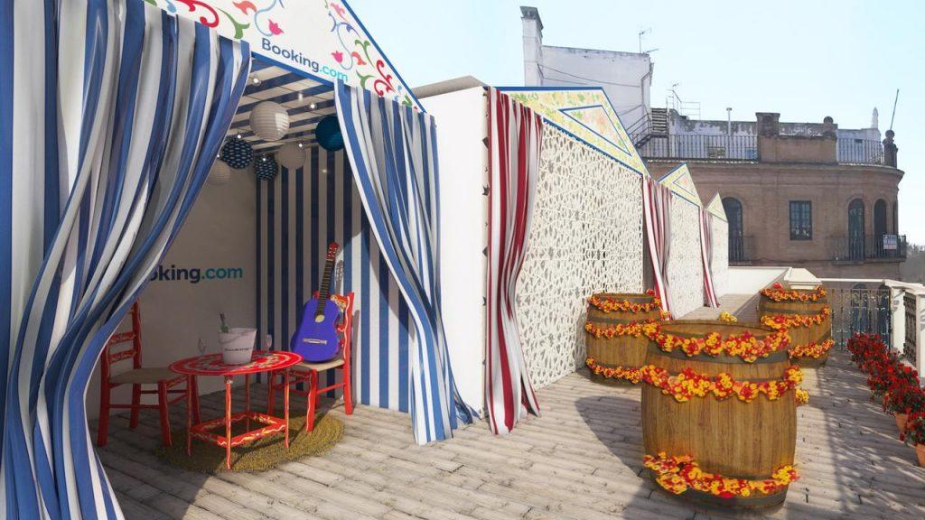 Booking.com presenta el apartamento Feria de Abril - Terraza