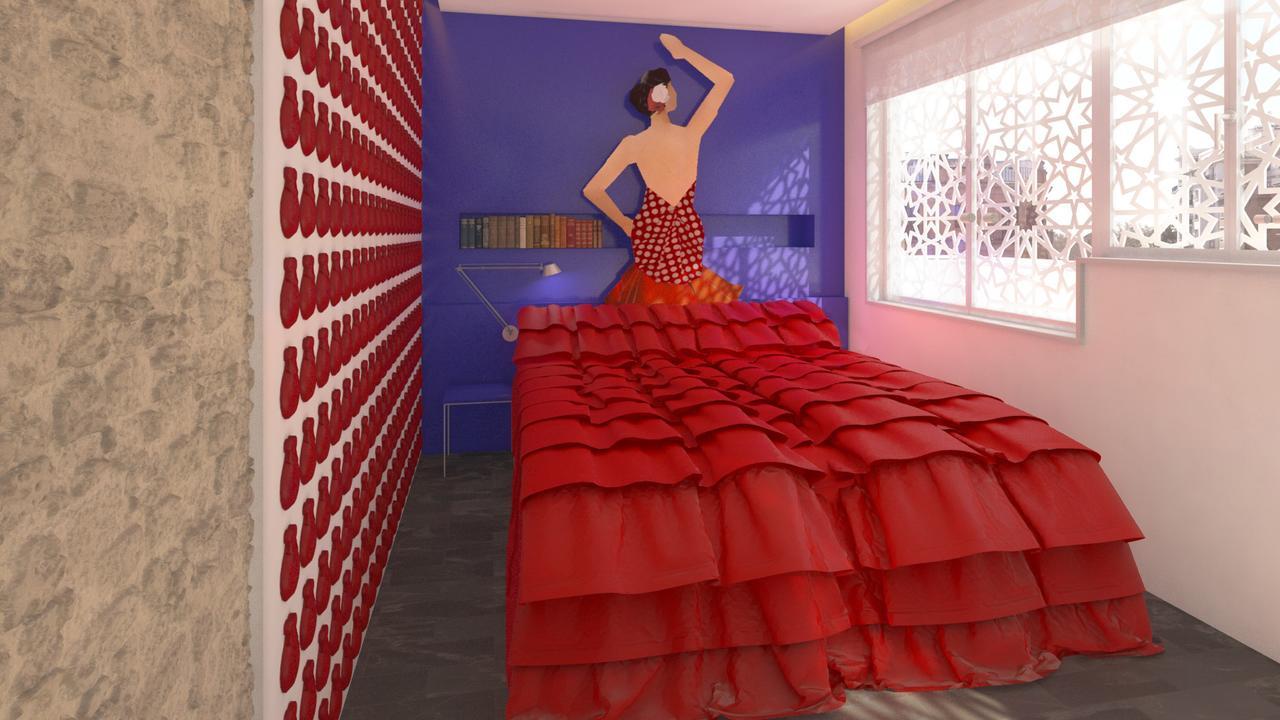 Booking.com tendrá un apartamento temático en la Feria de Abril de Sevilla