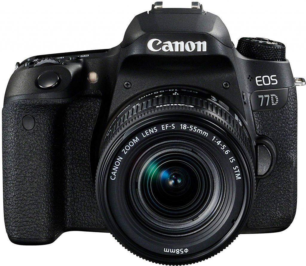 Canon 77D, aspecto