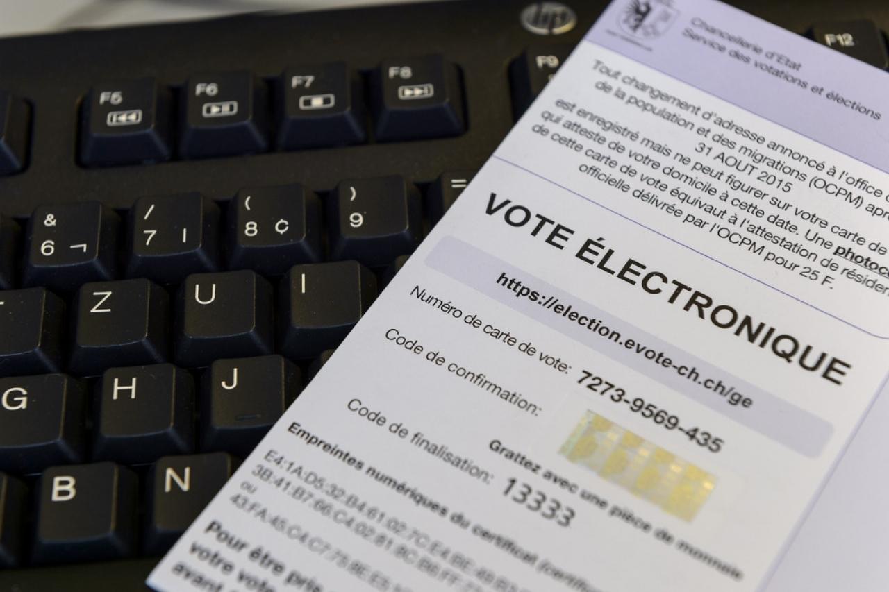 El sistema de voto electrónico suizo podría no ser tan seguro