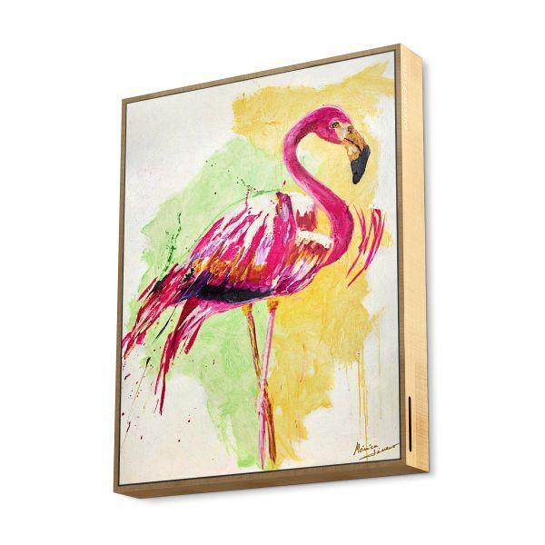 Frame Speaker Flamingo
