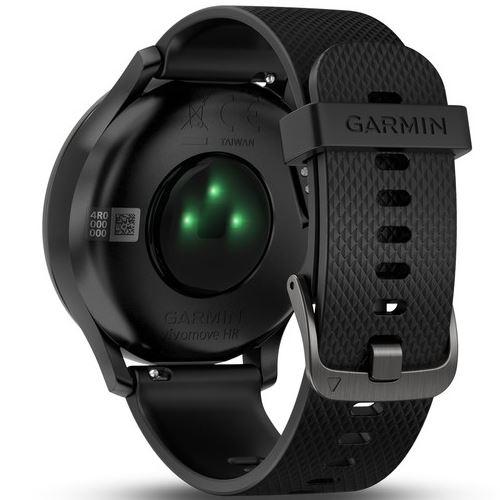 Garmin Vivomove HR, sensor cardiaco