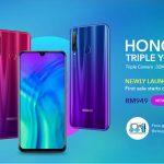 Honor 20 Lite, cámara triple y diseño de lujo en la gama media