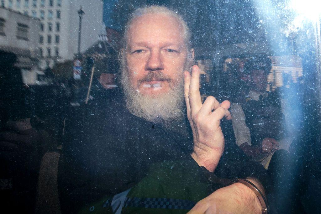 Julian Assange en 2019