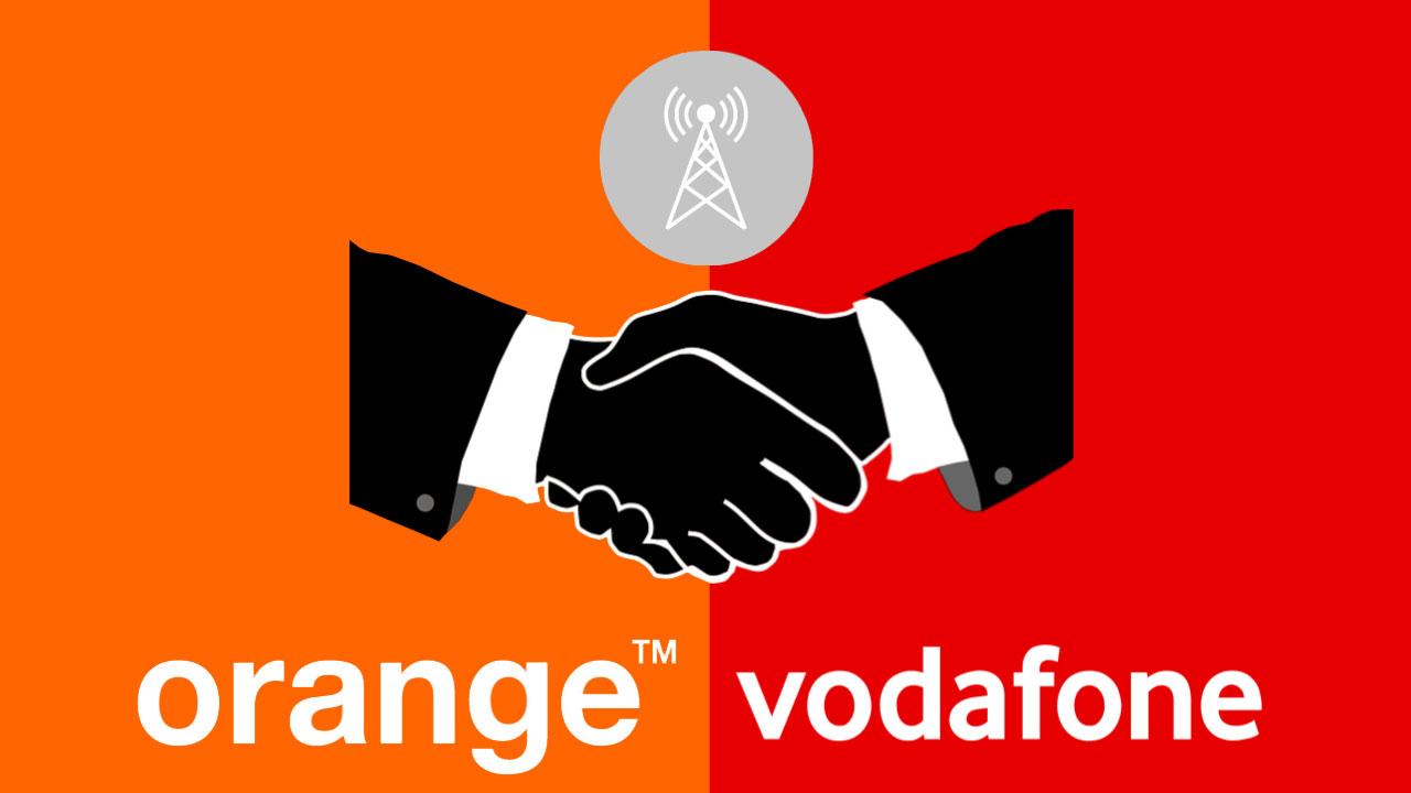 Orange y Vodafone renuevan su acuerdo de compartición de redes en España