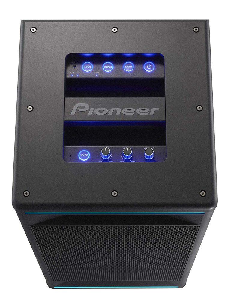 Pioneer Club 7, panel de control