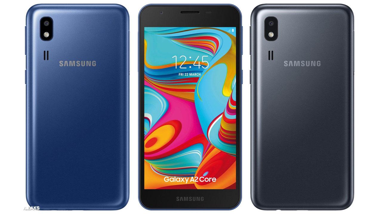 Samsung Galaxy A2 Core, gama básica con Android One a bordo