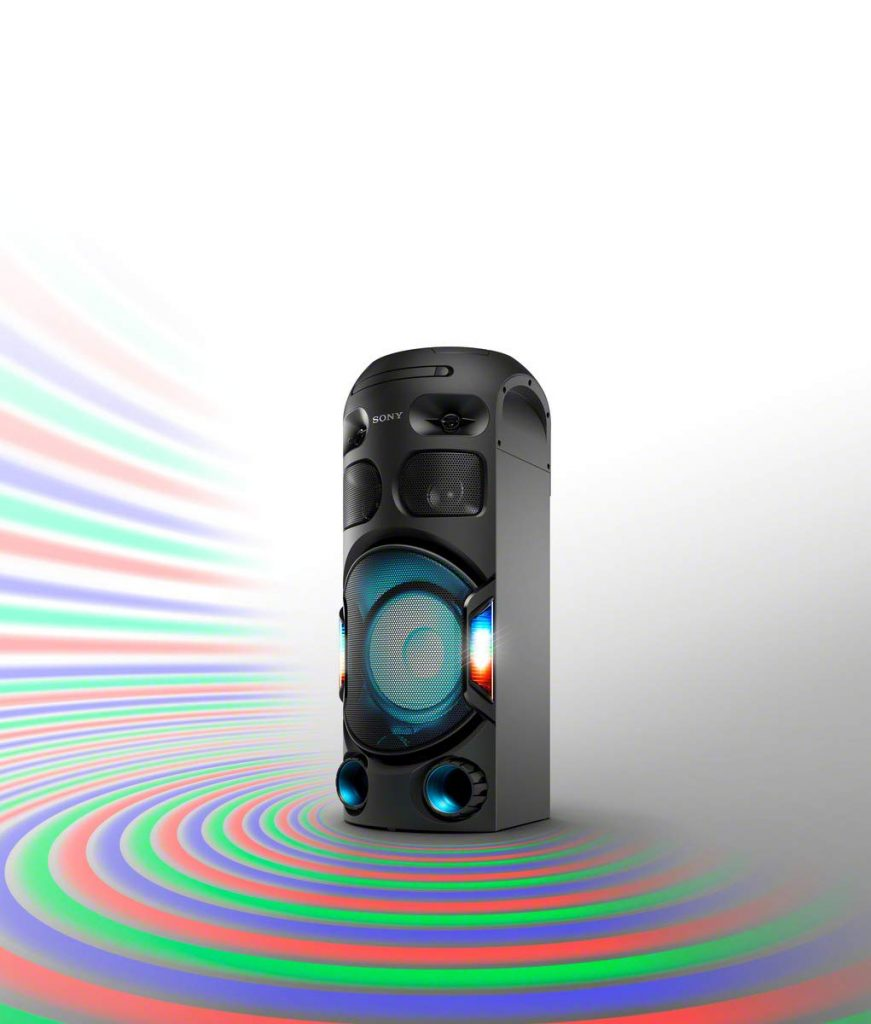 Sony MHC-V42D, iluminación