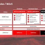 Vodafone anuncia nuevas tarifas y planes de datos ilimitados
